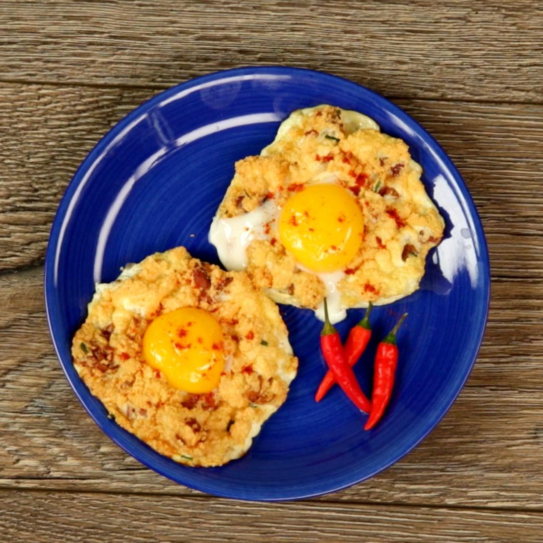 Baked Egg Fritters