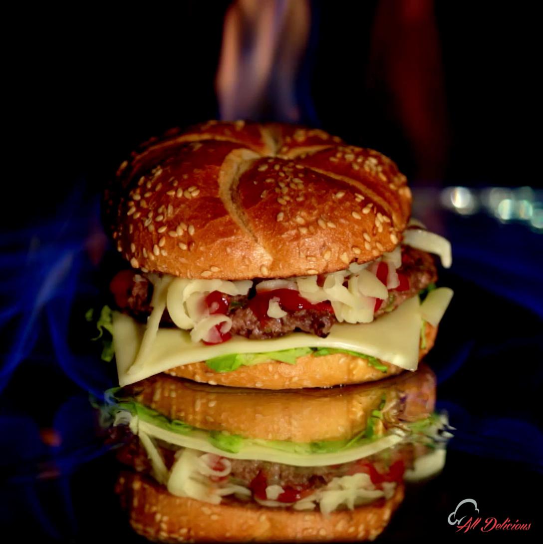 Flames Burger