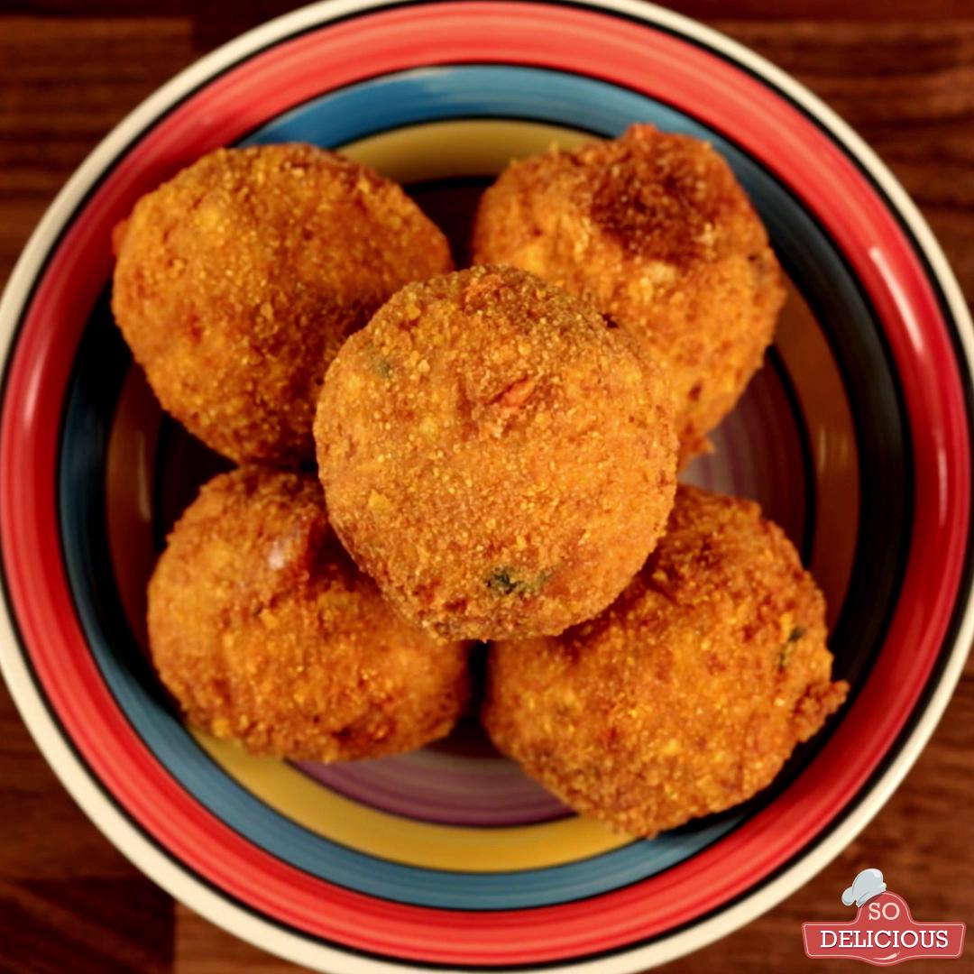 Chicken Mozzarella Meatballs