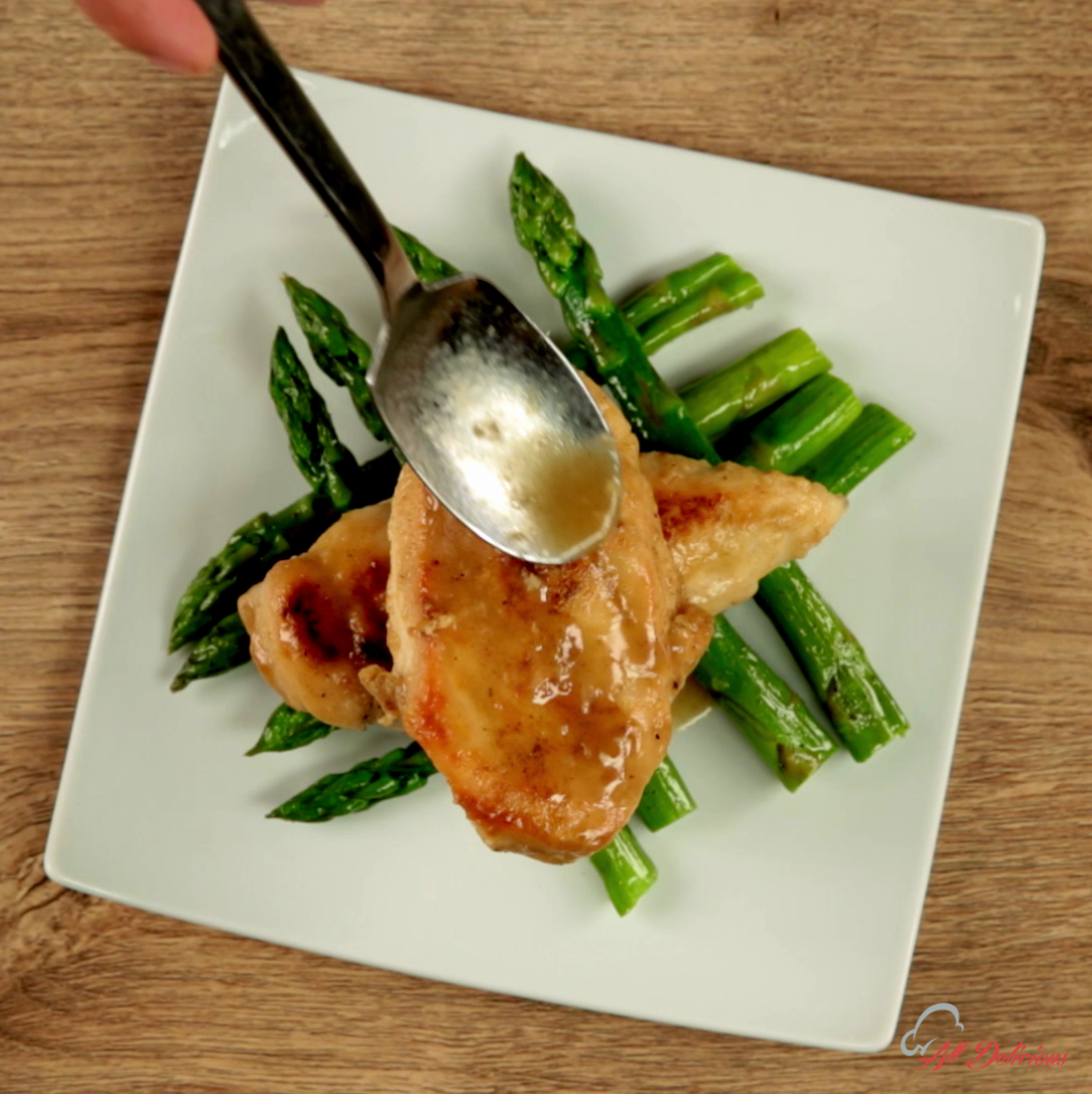 Asparagus and Lime Chicken
