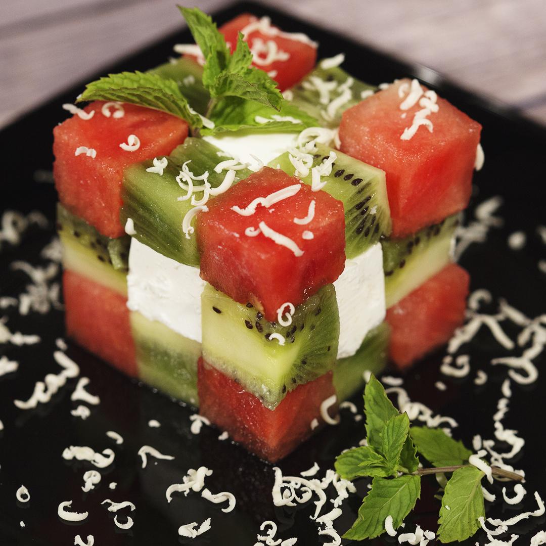 Rubik's Cube Fruit Salad | So Delicious