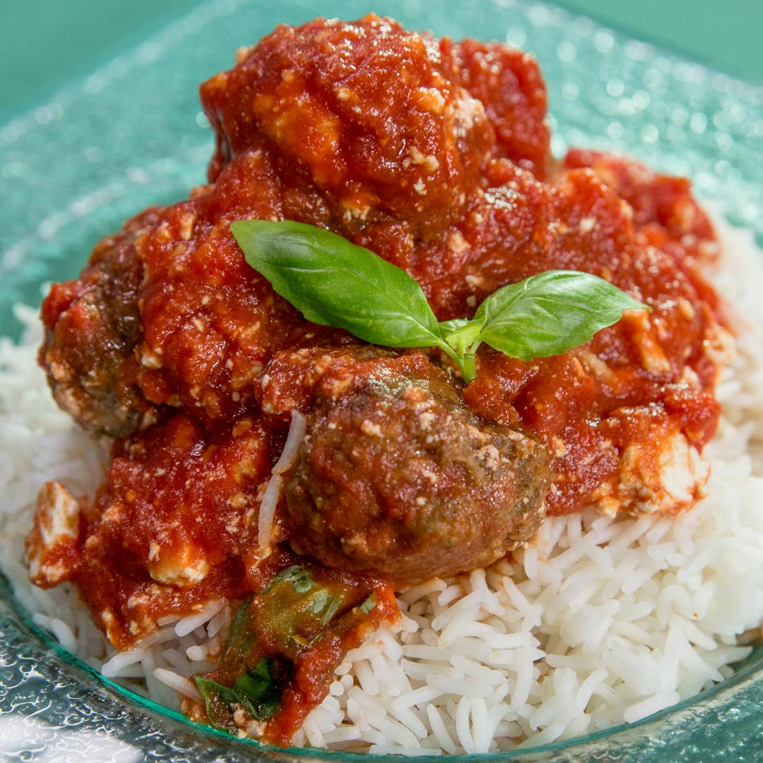 Recipe: Meatballs with Rice in Tomato Gravy 70