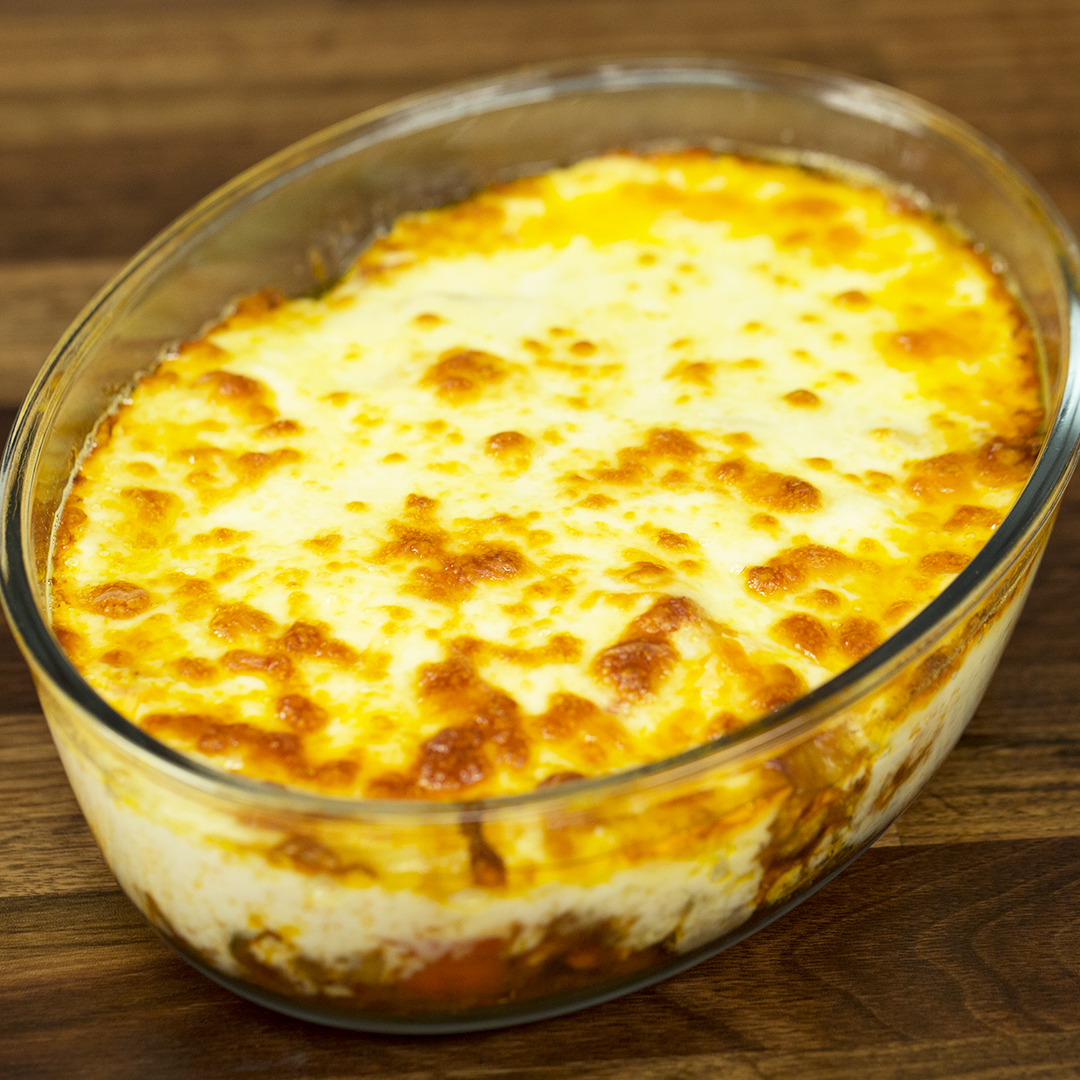 Chicken And Potato Casserole With Bechamel Sauce So Delicious