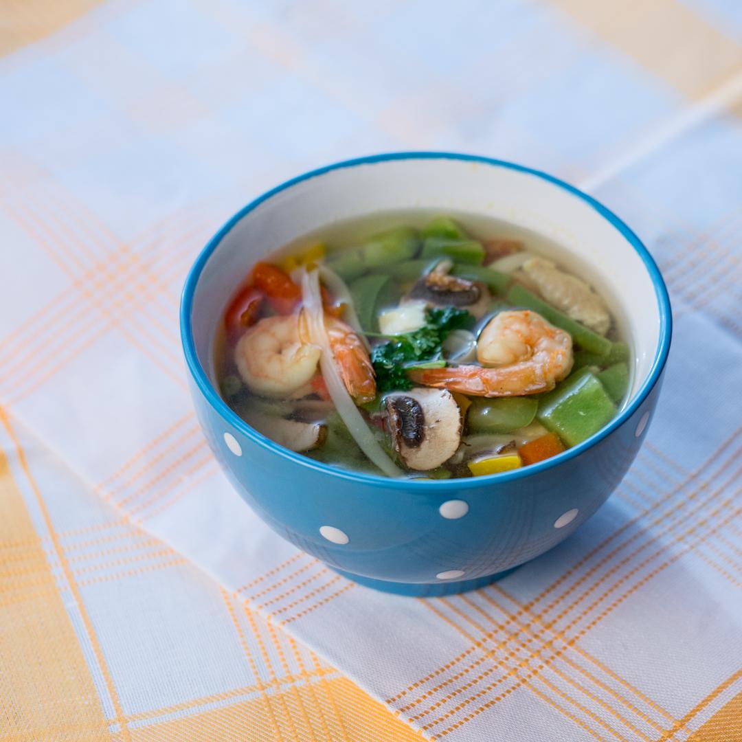 Fish and Shrimp Soup