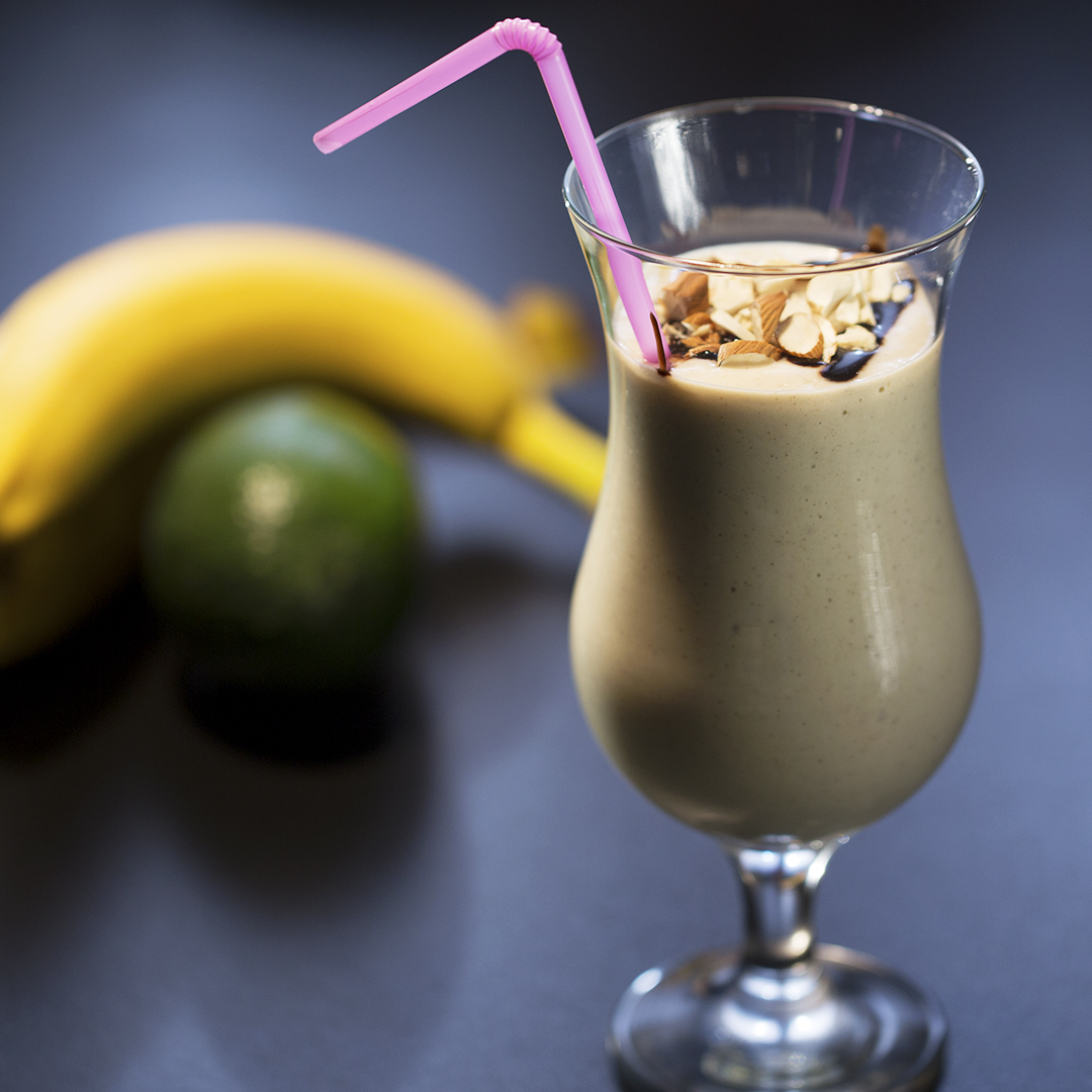 Banana and Avocado Milkshake