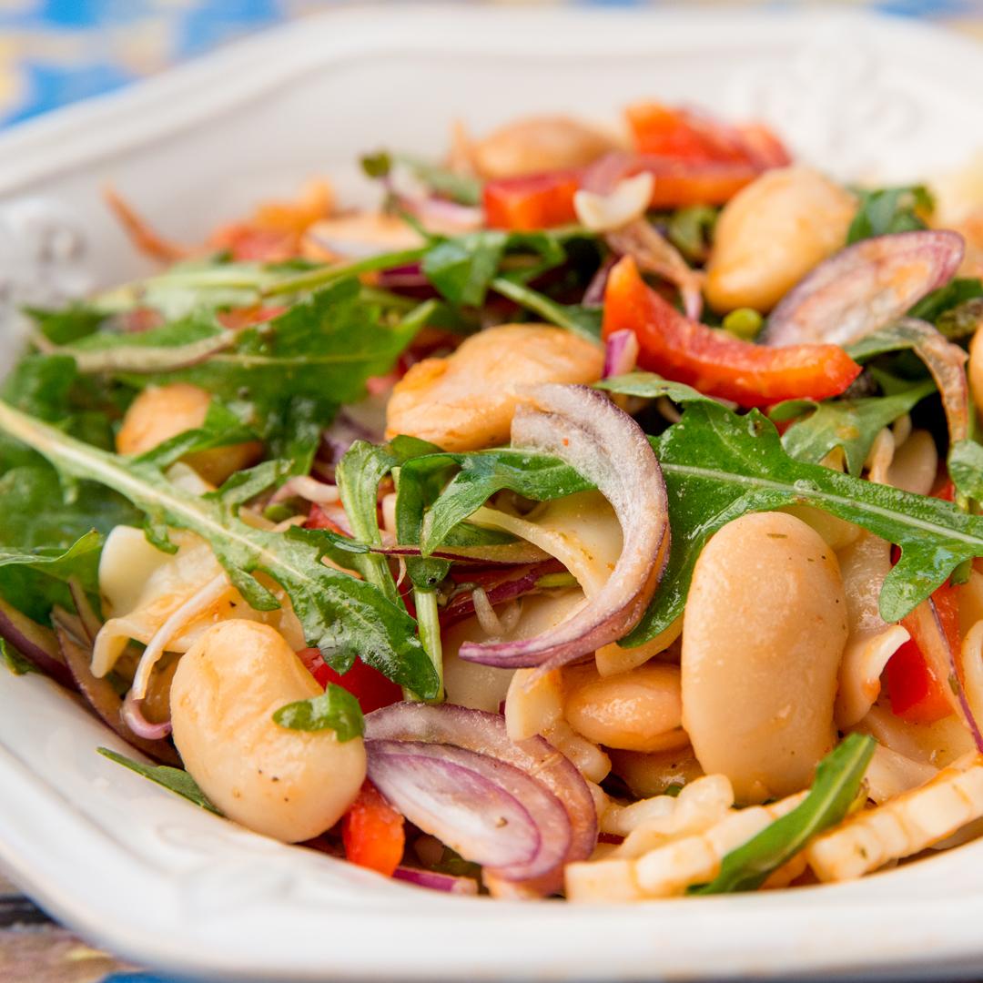 White Bean Pasta Salad