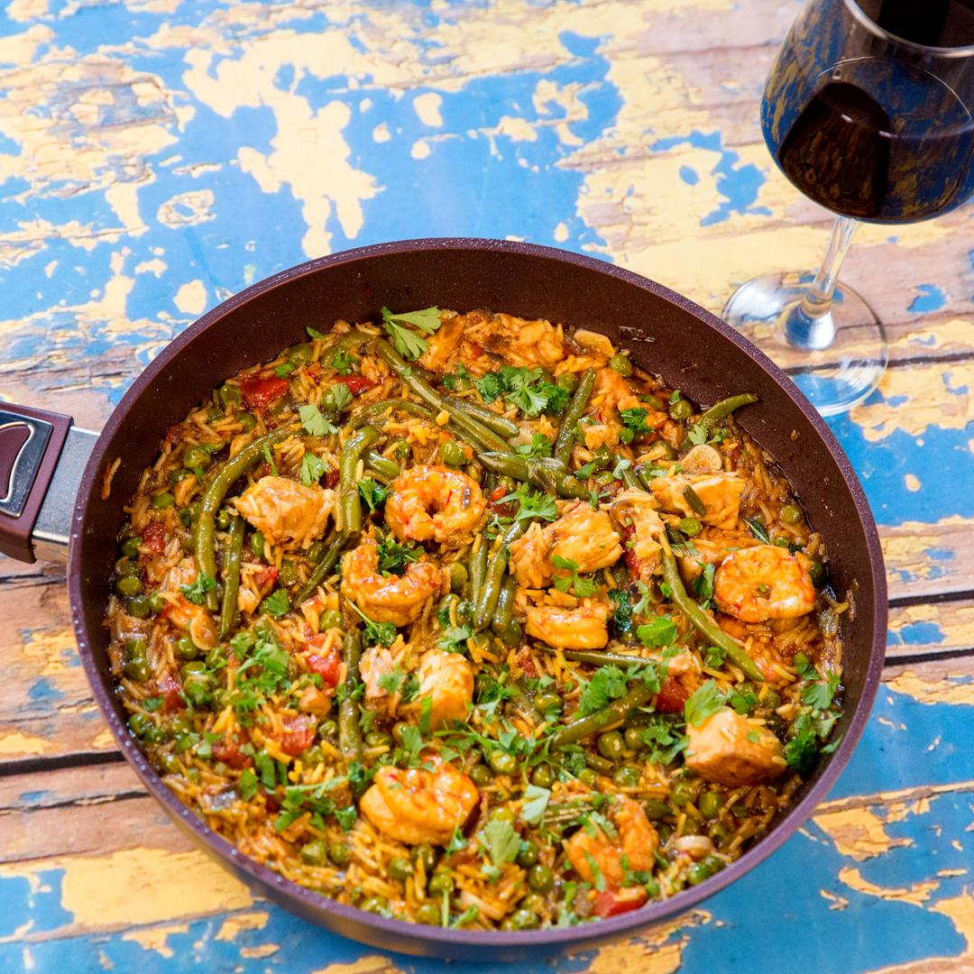 Fish, Shrimp and Rice Stew