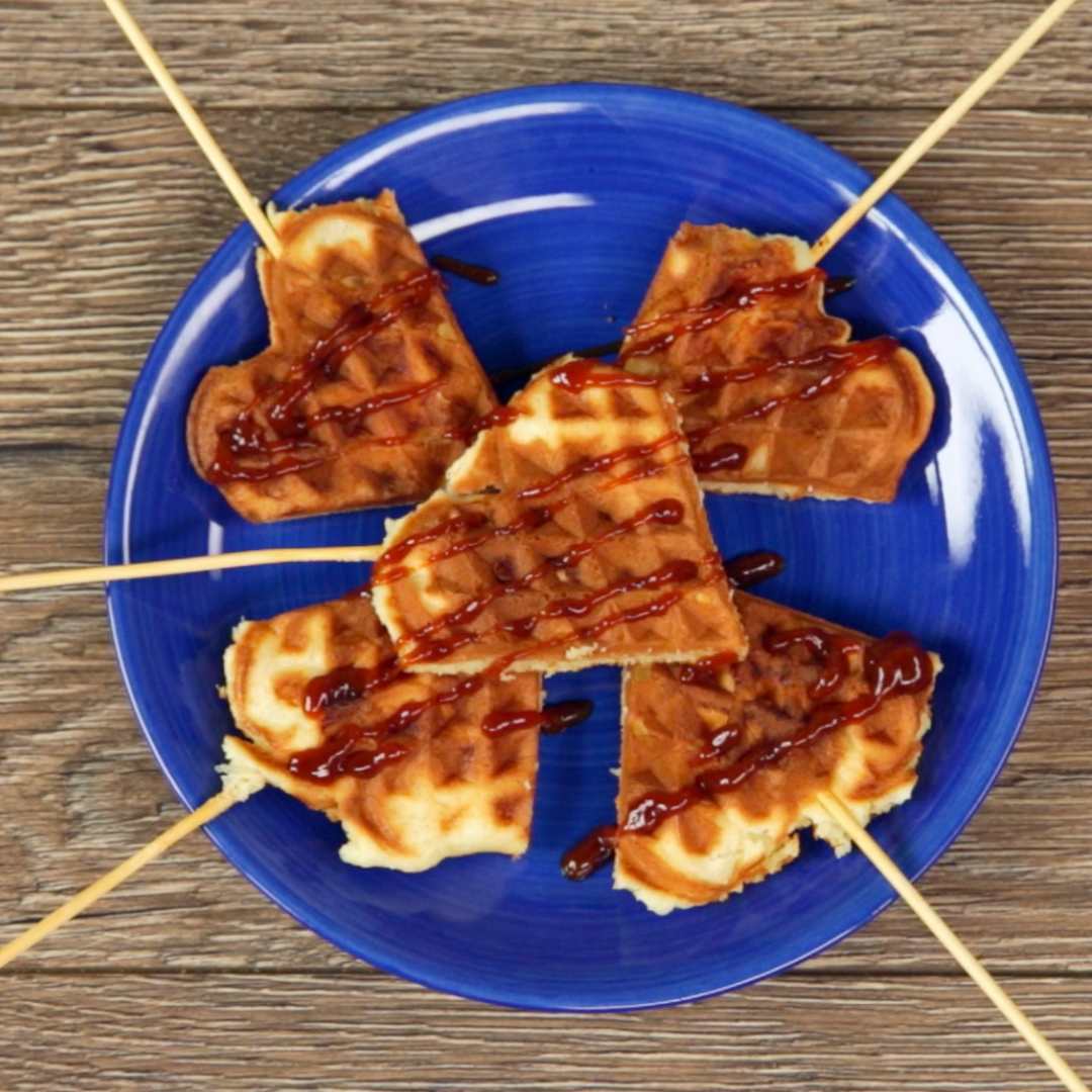 Surprising Chicken Waffles