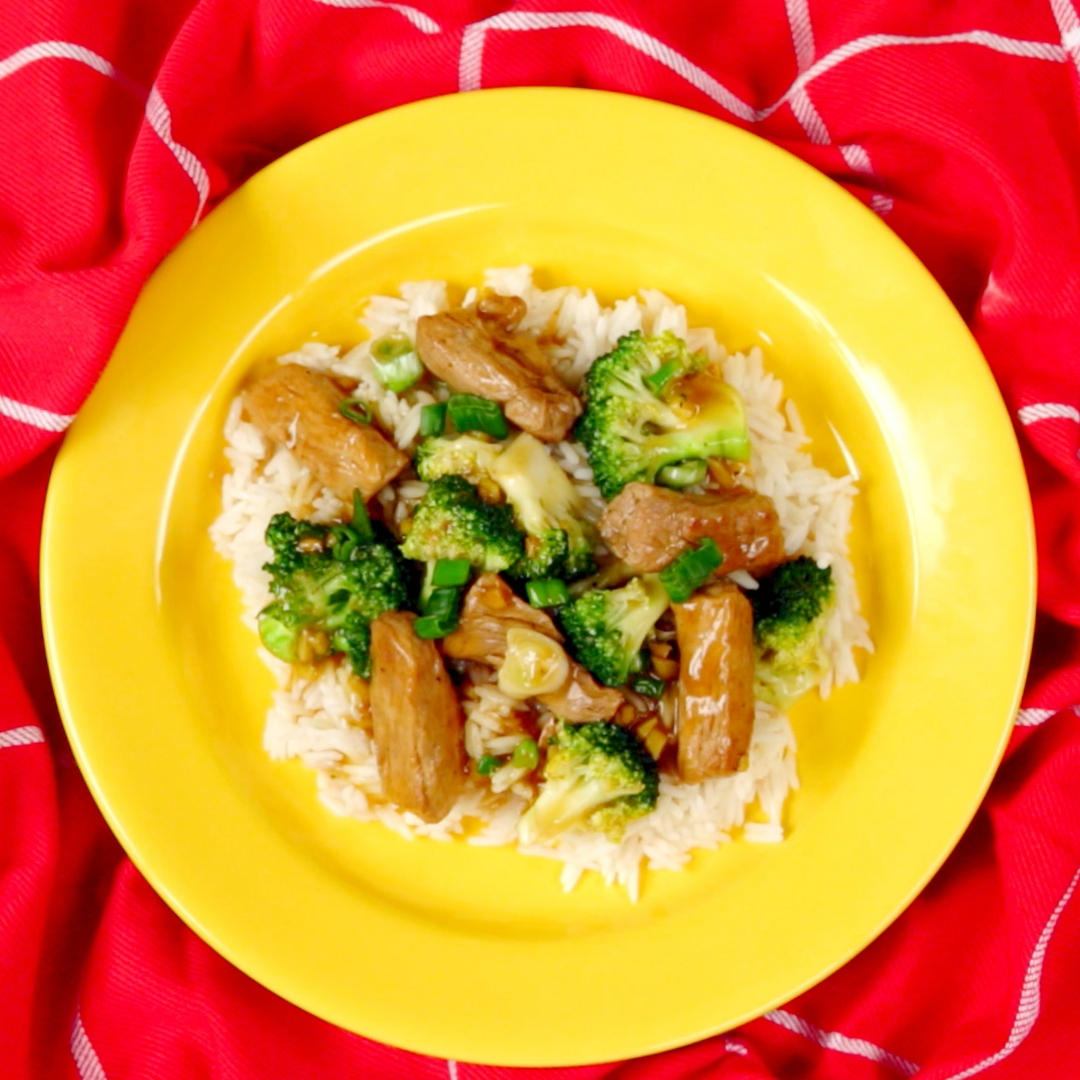 Asian-Style Pork and Broccoli