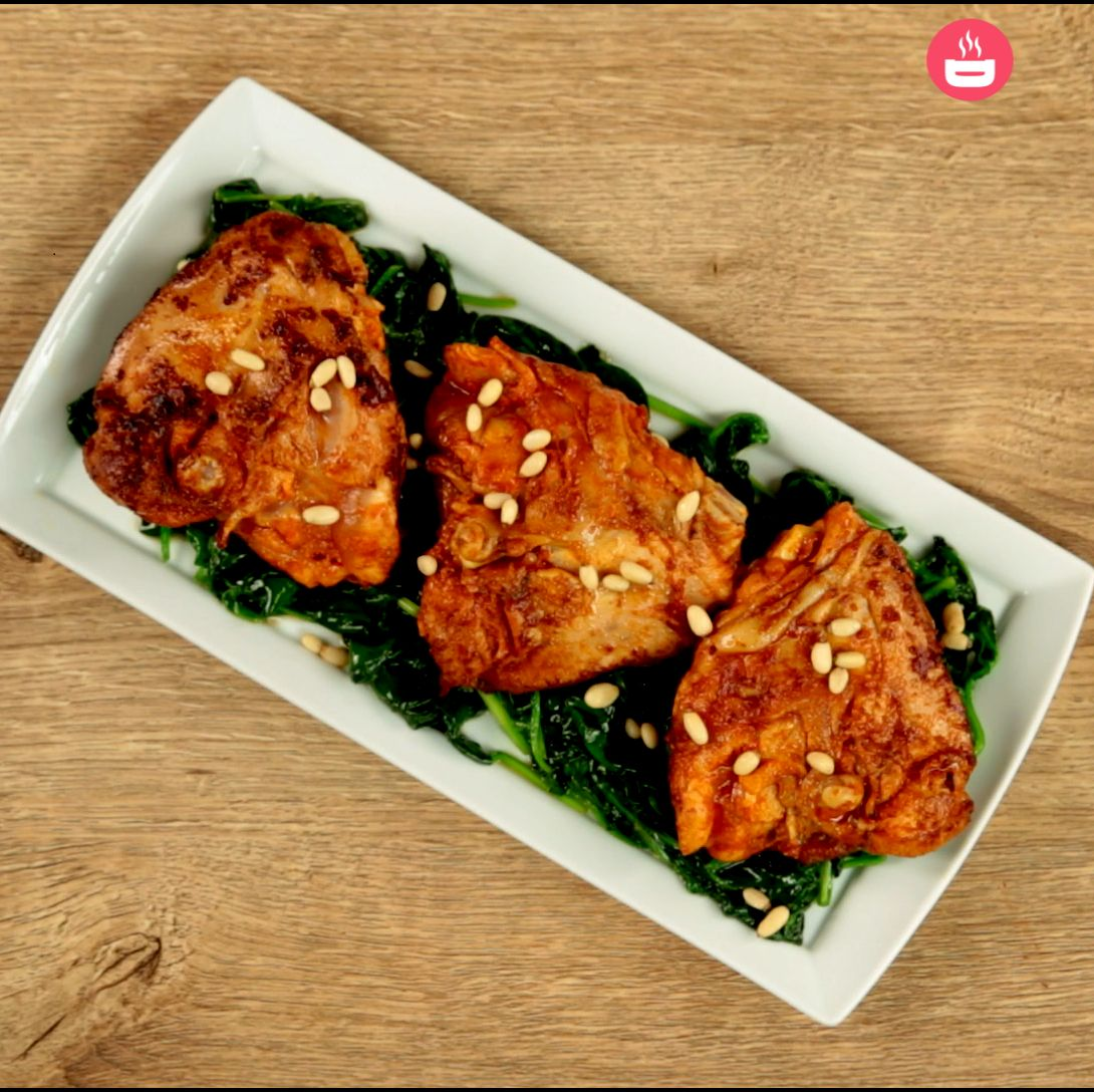 Ginger and Lime Chicken Thighs