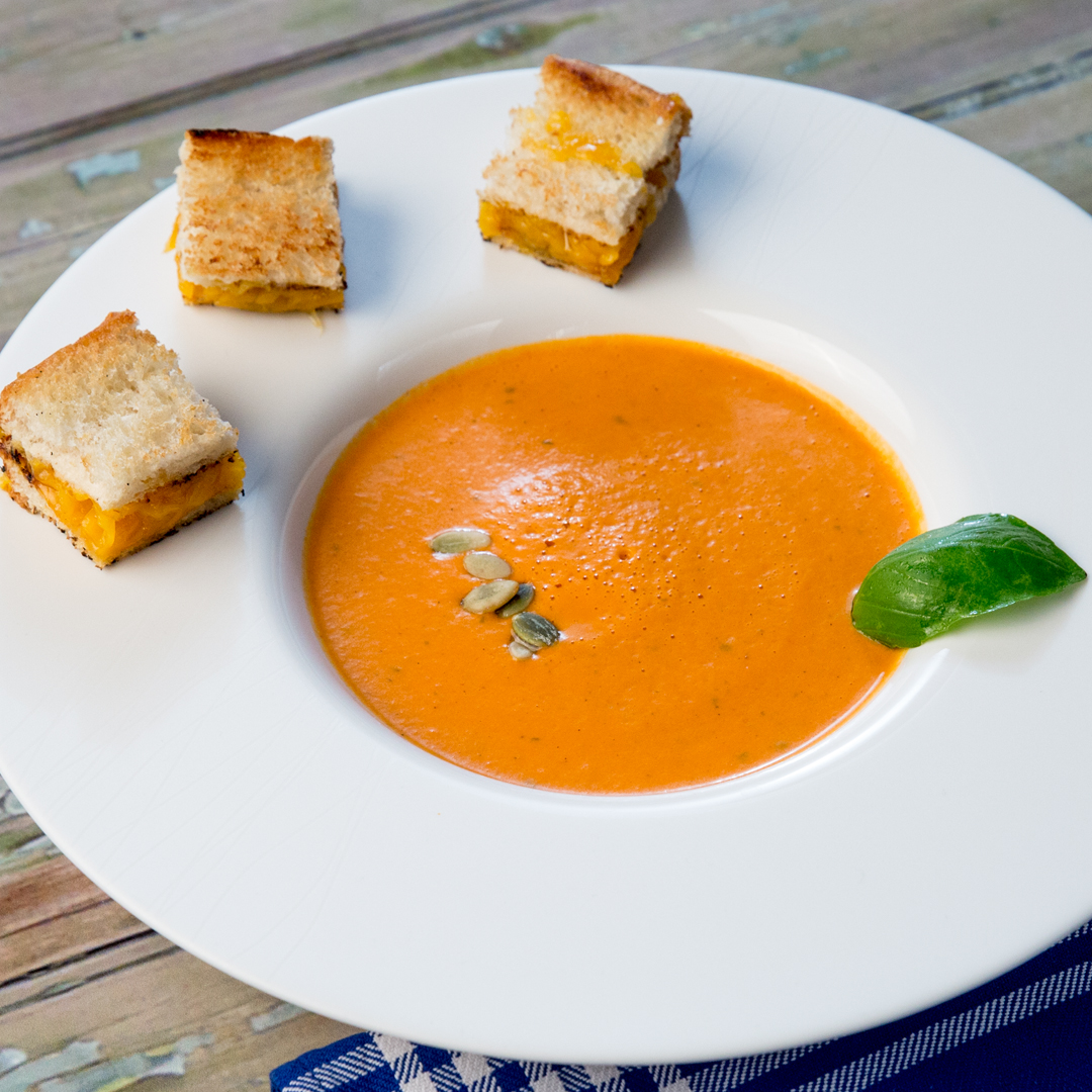 Tomato and Cream Cheese Soup
