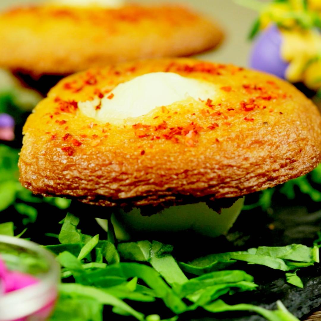 Hard-Boiled Egg Muffins