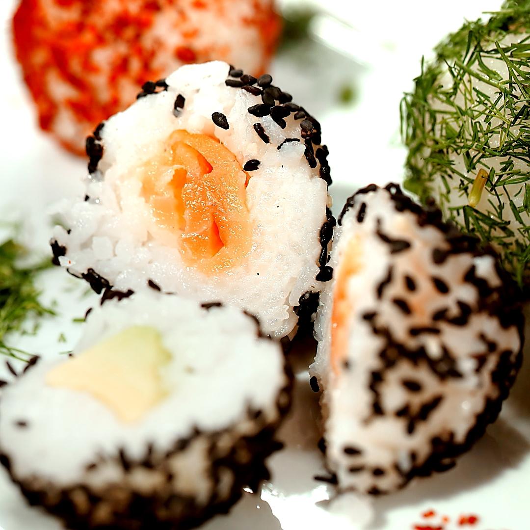 Smoked Salmon and Avocado Rice Balls