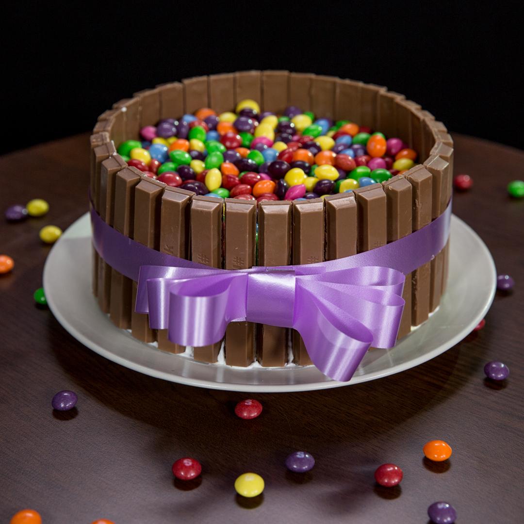 Skittles Gravity Cake Recipe