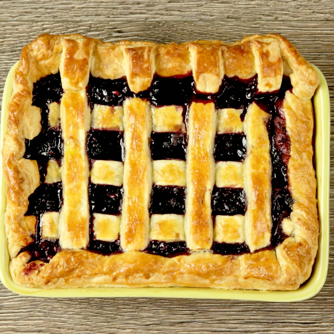 Rum and Berry Pie