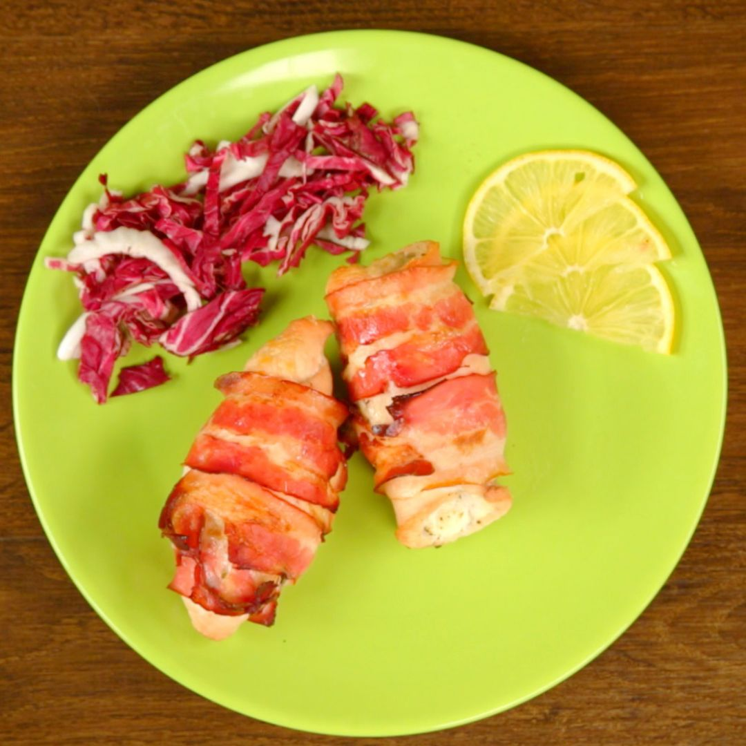 Ricotta and Bacon Chicken Breast