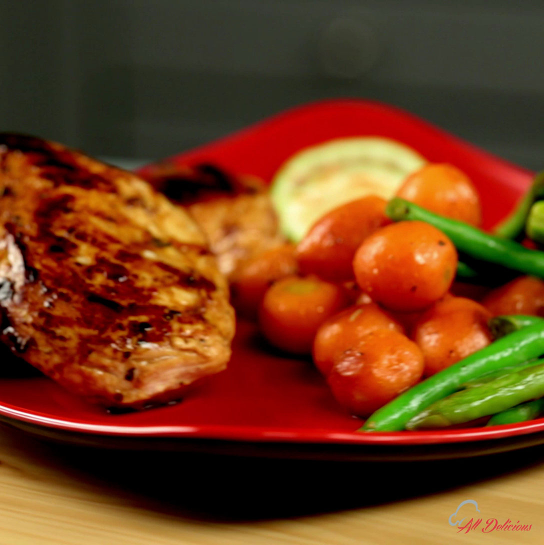 Ginger and Soy Sauce Marinated Chicken