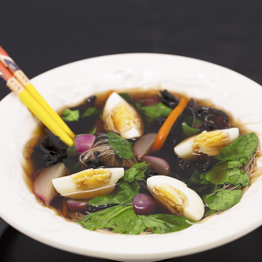 Vegetarian Ramen Soup