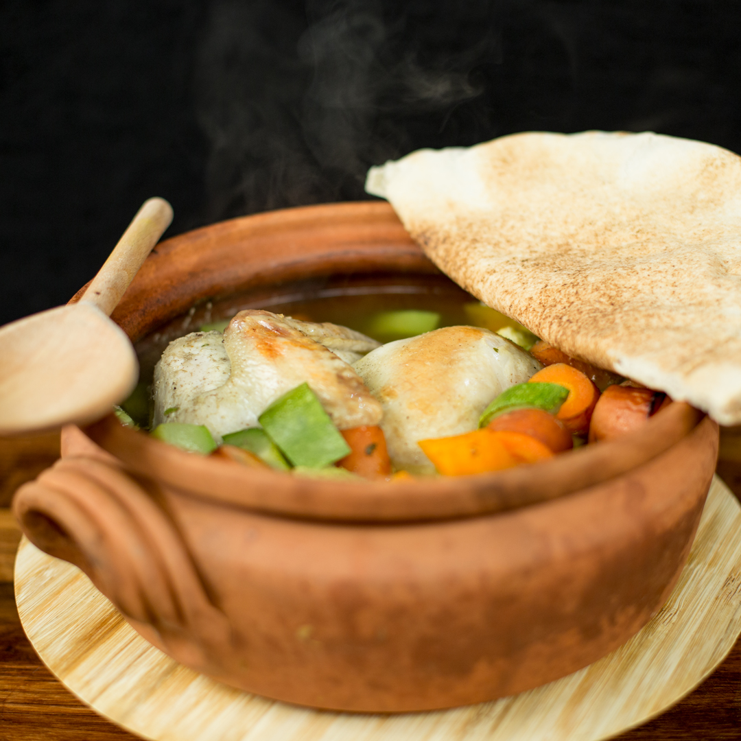 Clay Pot Chicken and Veggies