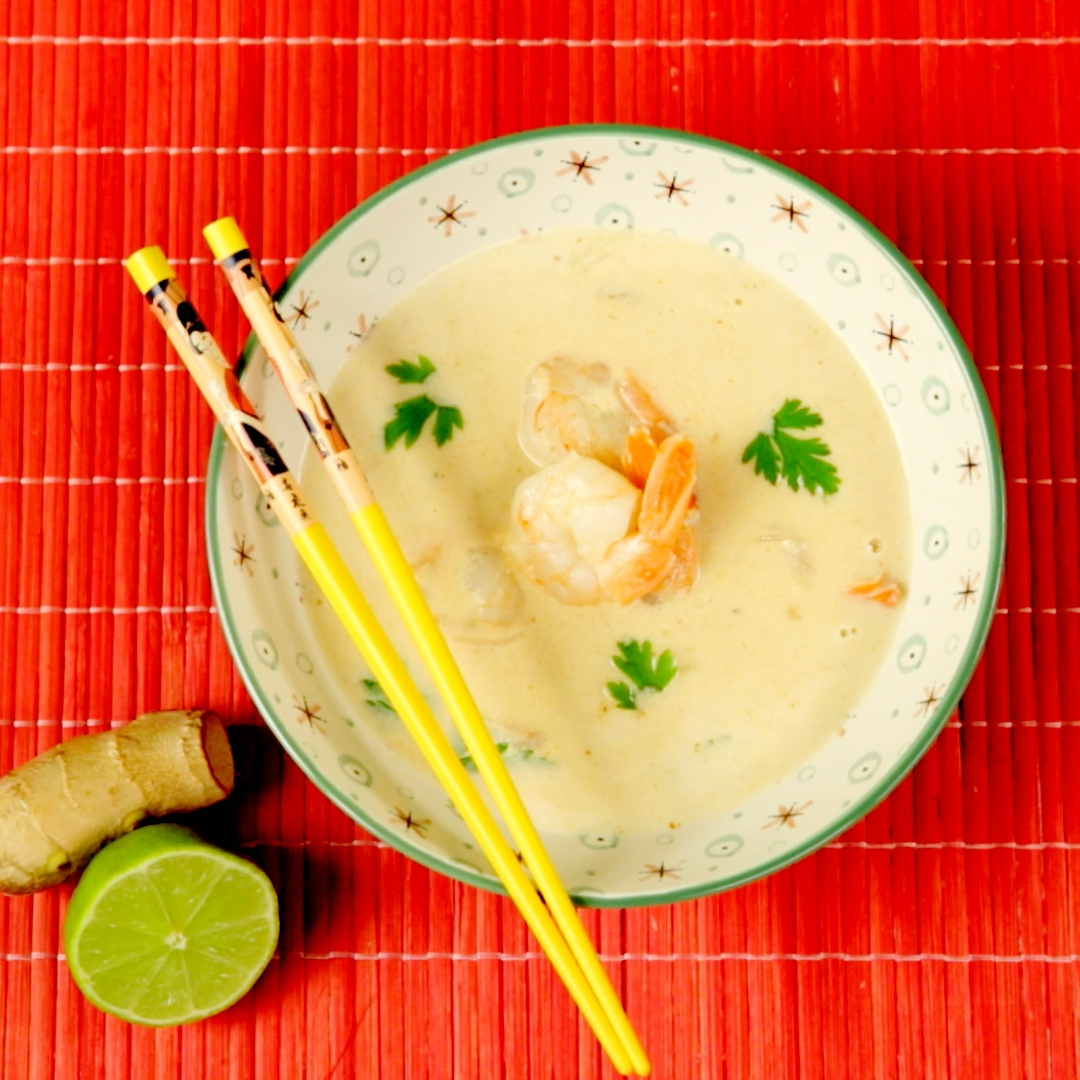 Shrimp and Coconut Milk Soup