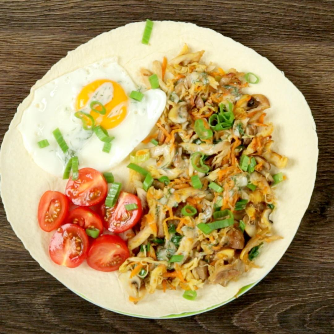 Veggie and Chicken Tortilla