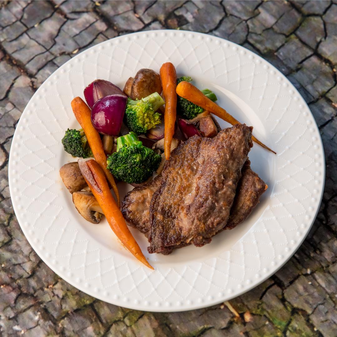 Deep Fried Beef and Veggies