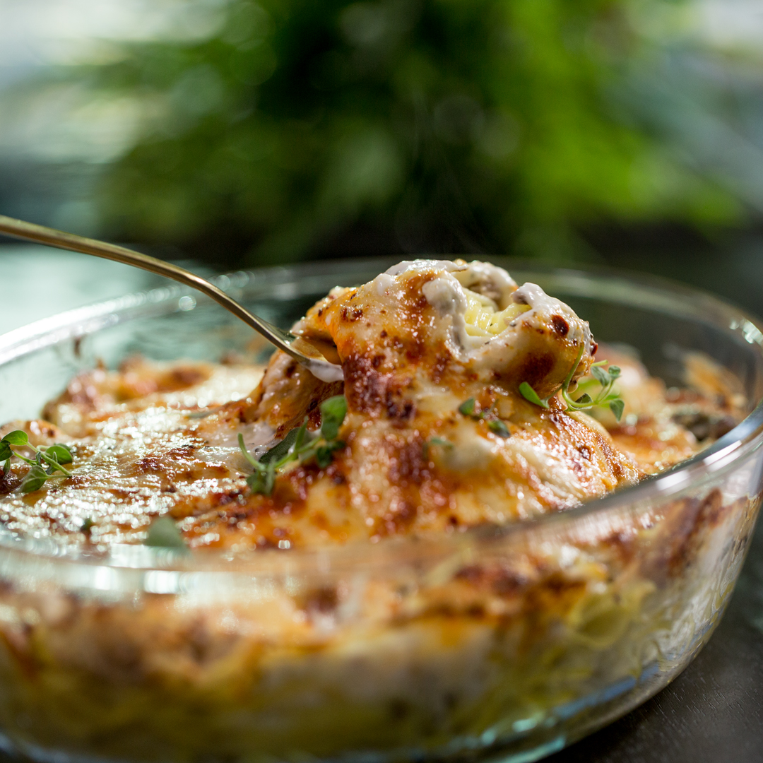 Cheesy Tuna and Pasta Bake