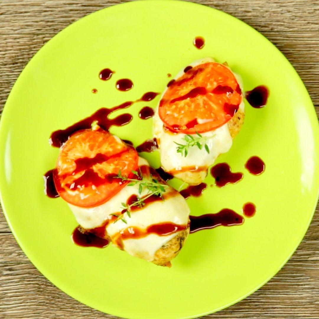 Mozzarella and Tomato Chicken Breast