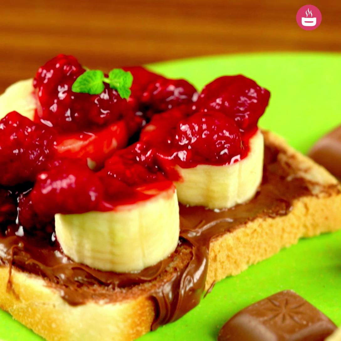 Raspberry Sandwich