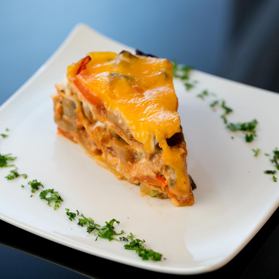 Vegetarian Crepe Lasagna