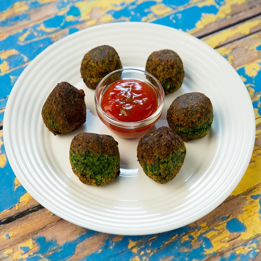 Parmesan Spinach Balls - So Delicious