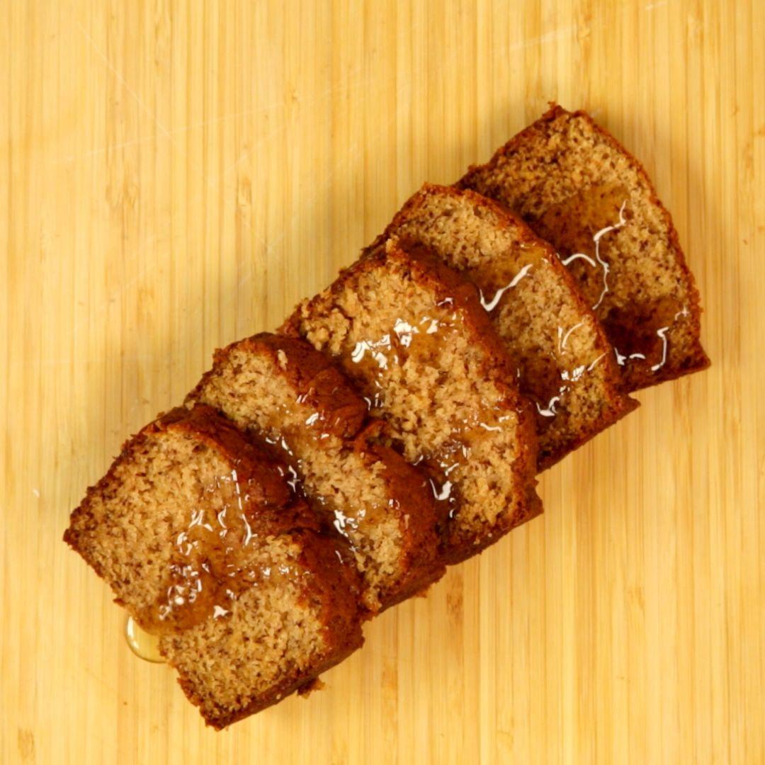 Fluffy and Crusty Banana Bread