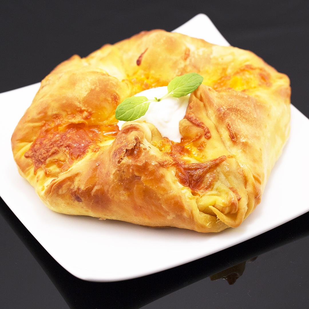 Mozzarella and Cheddar Pastries