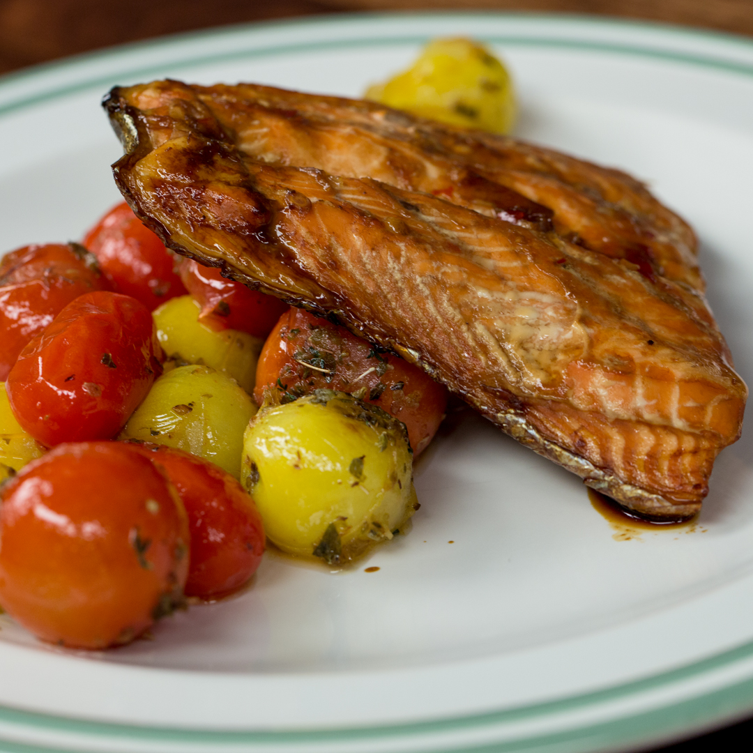 Honey and Soy-Glazed Salmon