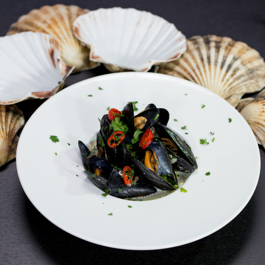 Mussels with Coconut Milk and Chilies