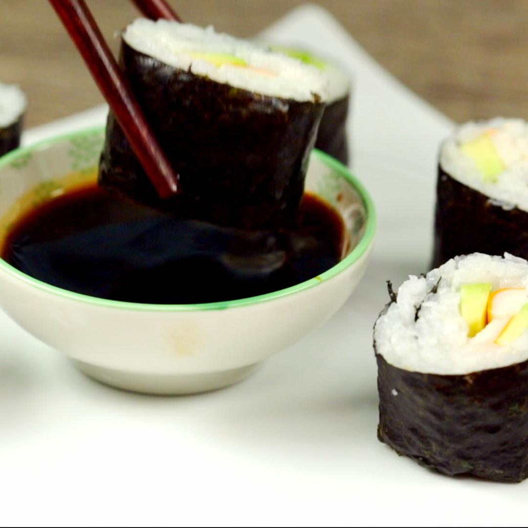 Surimi Sushi Rolls