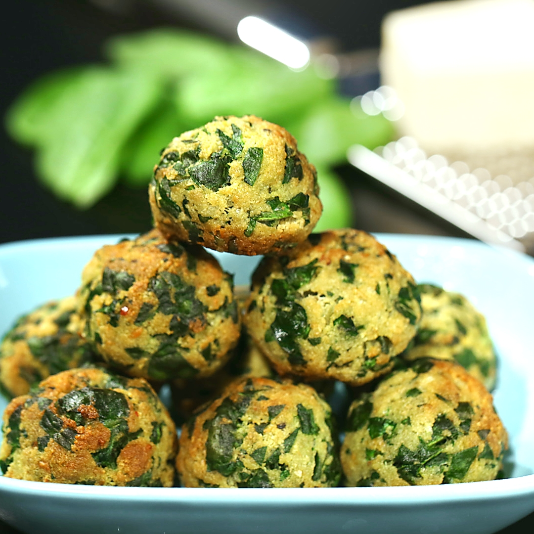 Parmesan Spinach Balls So Delicious