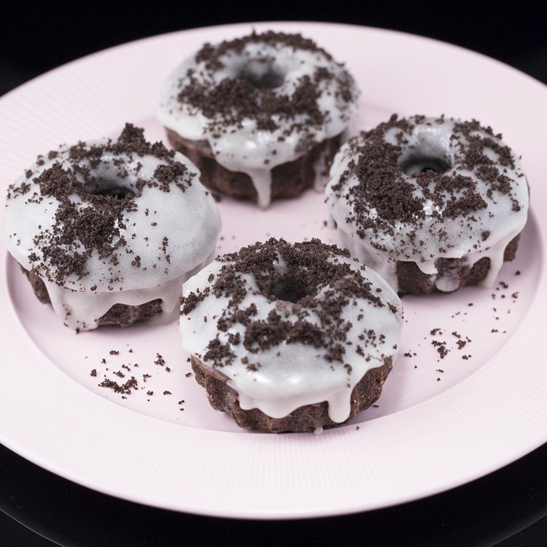 Sugar-Glazed Oreo Muffins