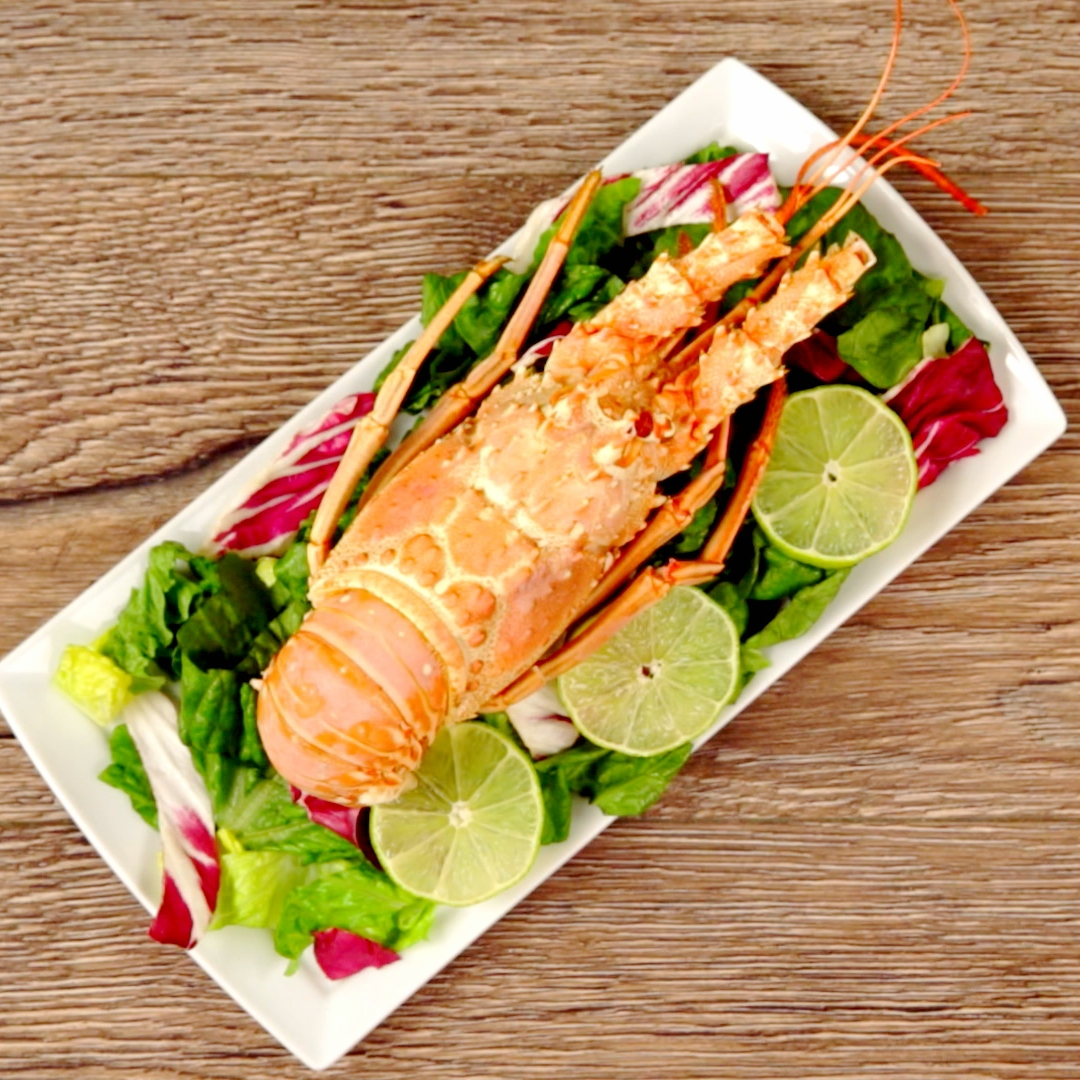 Butter and Lime Lobster