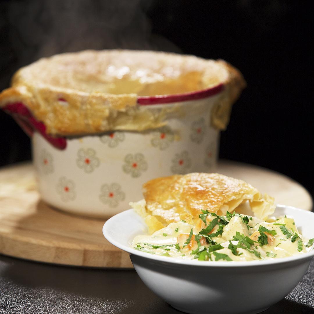 Creamy Chicken and Veggie Stew