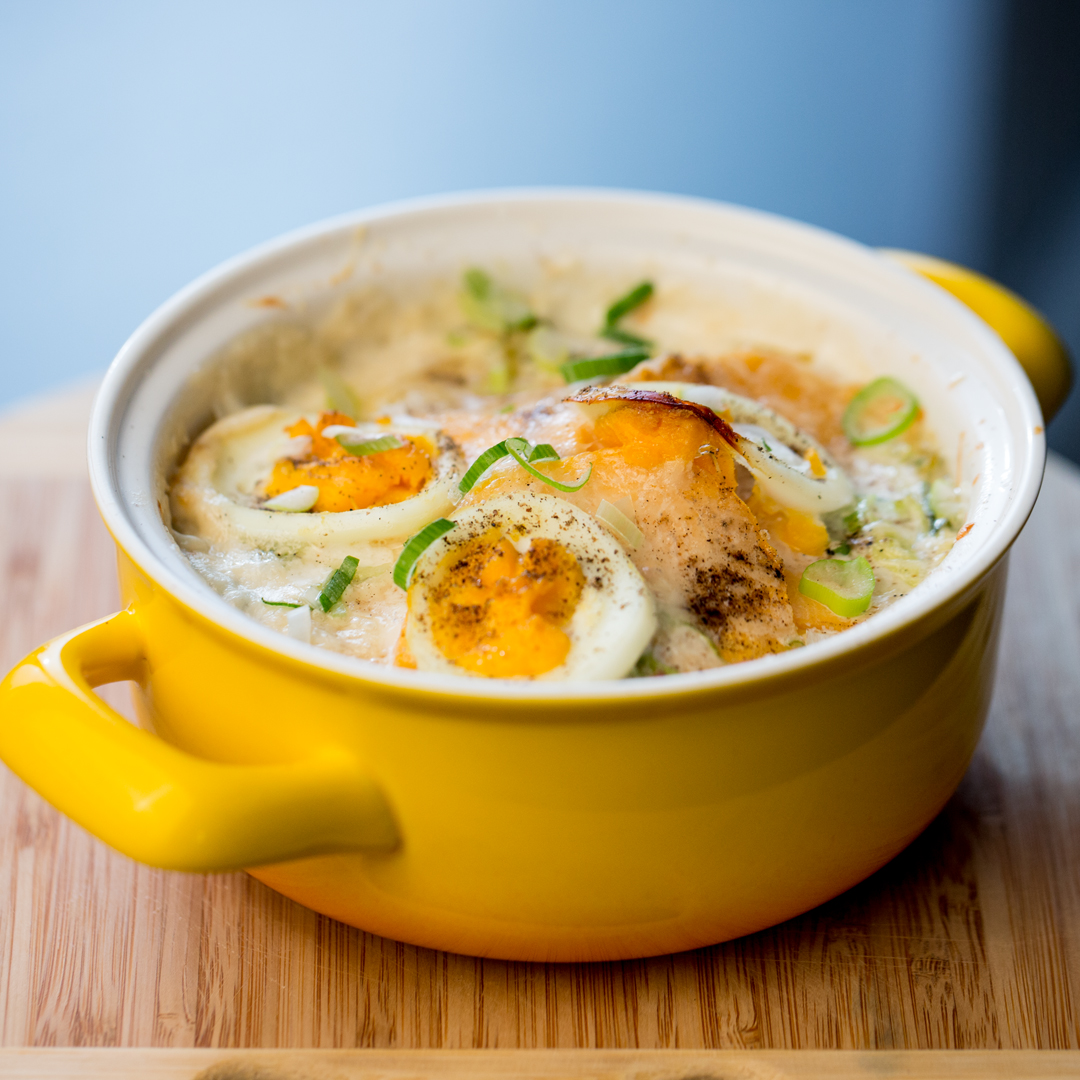 Egg and Sweet Potato Bake