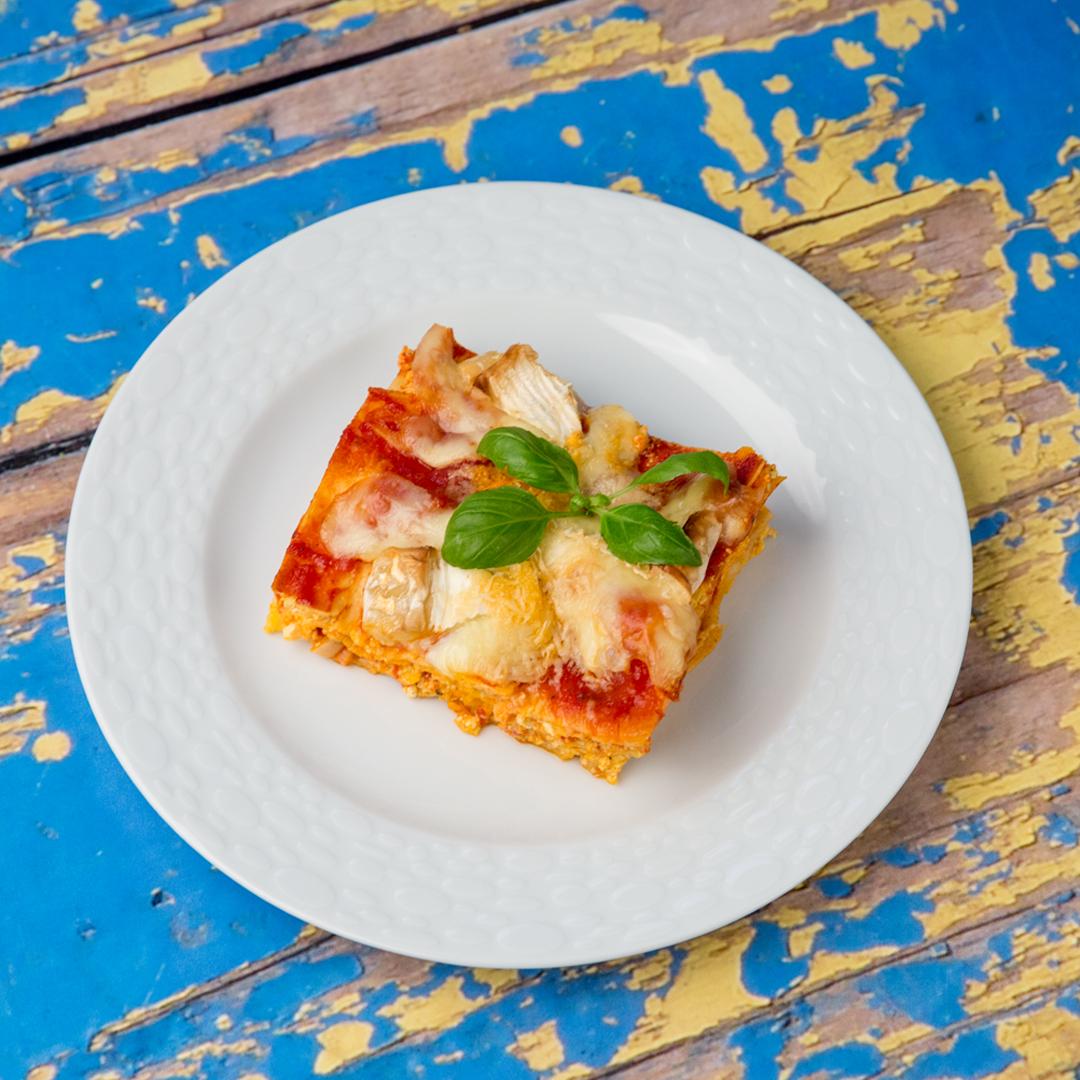 Ricotta and Camembert Lasagna
