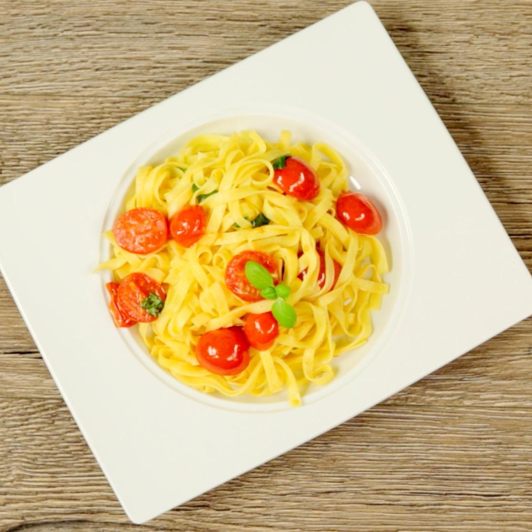 Cherry Tomato Tagliatelle
