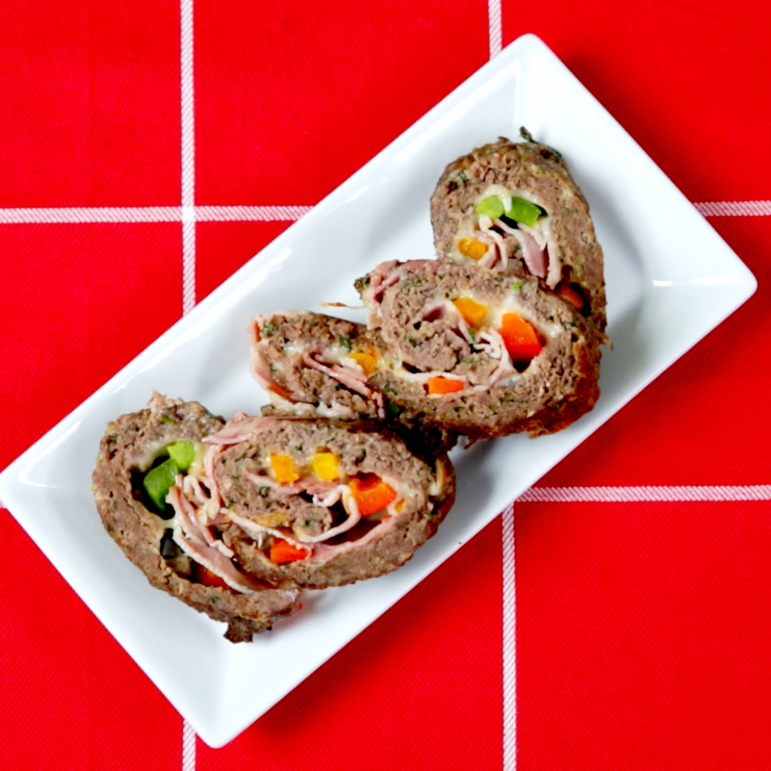 Ground Beef Roulade
