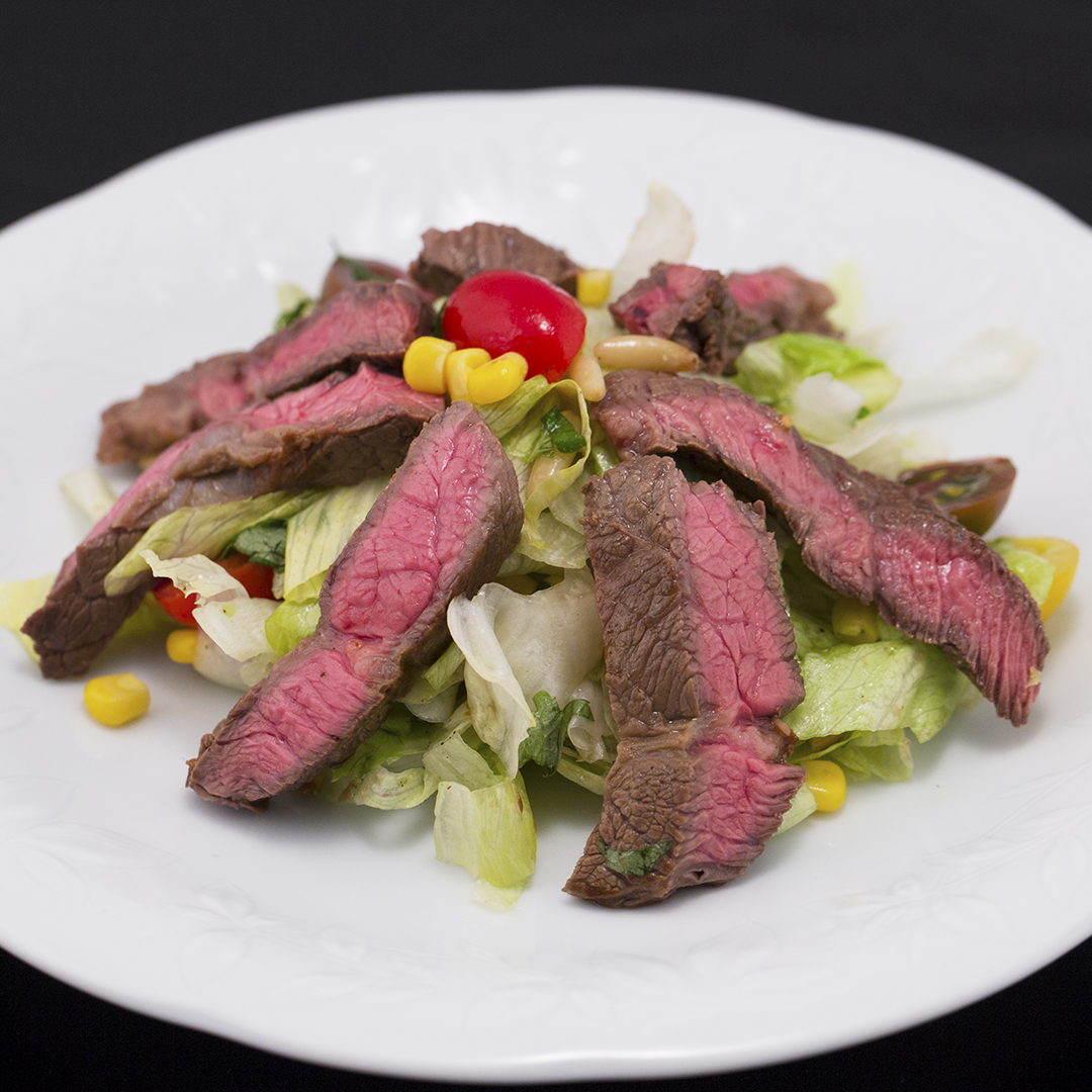 Beef, Cabbage and Corn Salad