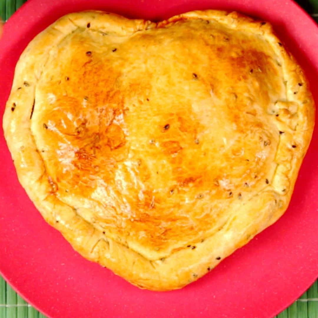 Heart-Shaped Meat Pie