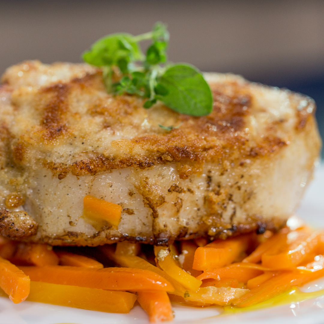 Sugar-Glazed Pork with Carrots