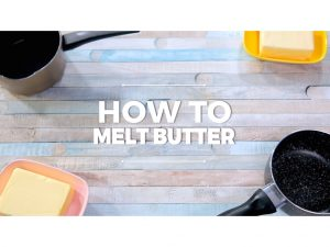 How to Melt Butter