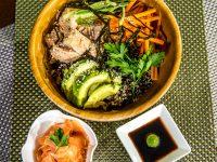 Black Rice, Quinoa and Tuna Bowl