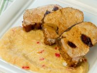 Roasted Pork Sirloin with Apple Mash